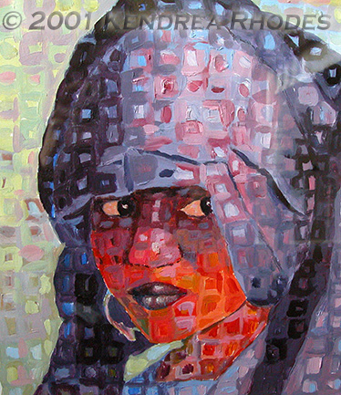 Saharan Bride - Original art by Kendrea Rhodes