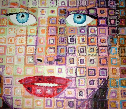 Nicole Kidman - Original art by Kendrea Rhodes