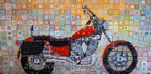 Orange Cruiser by Kendrea Rhodes