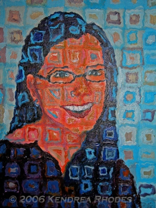 Sweet Caroline, acrylic on canvas © 2006 Kendrea Rhodes All rights reserved www.kendreart.com