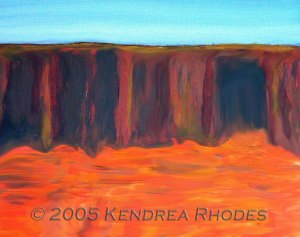 Top End by Kendrea Rhodes