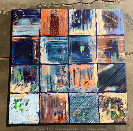 Encounterpane by © Kendrea Rhodes, 2016 South Australian Living Artists entry